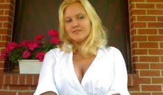Die geile versaute Blondine sucht eine Affäre